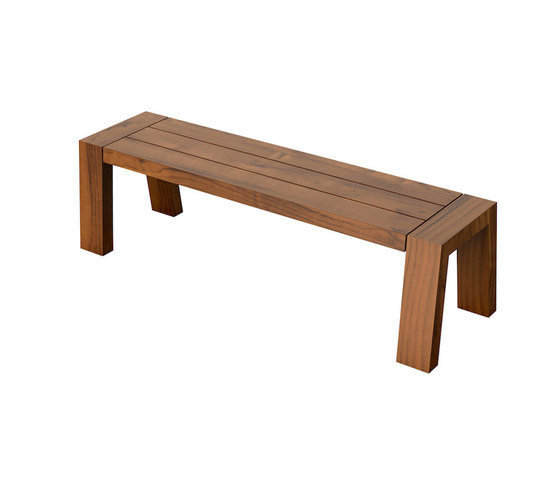 Solo Collection   Bench 160 by Viteo   Garden benches