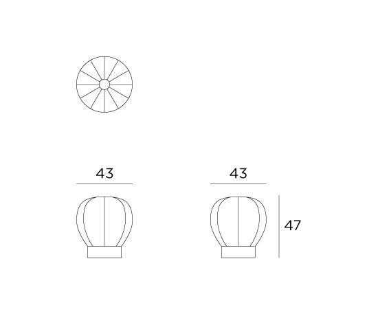 Q- Stool di Viteo | Sgabelli da giardino