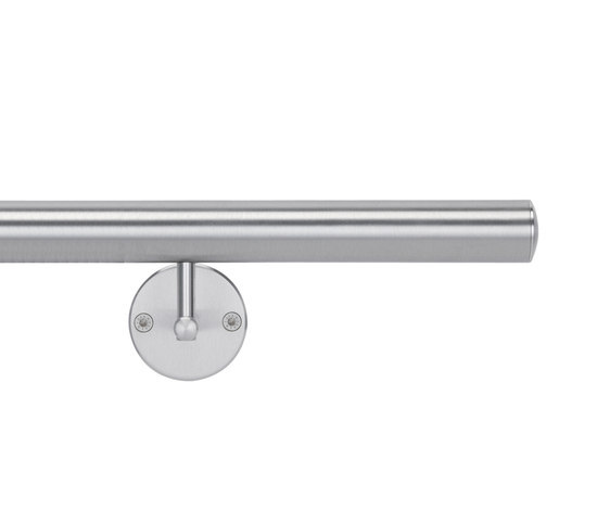 Handrail, straight end by HEWI | Handrails