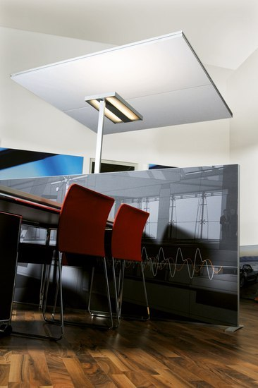 mooia acoustic air von Sedus Stoll | Hängesysteme