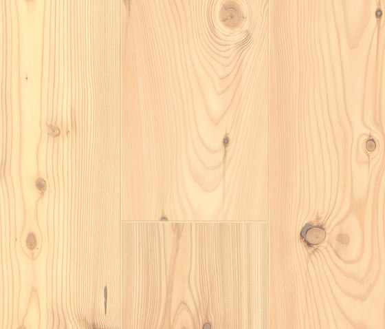 Softwood larch white rustic wood flooring from admonter