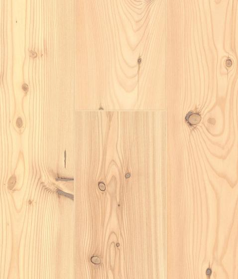 CLASSIC CONIFERAS Alerce de montaña multi lama con nudos blanco de Admonter | Suelos de madera