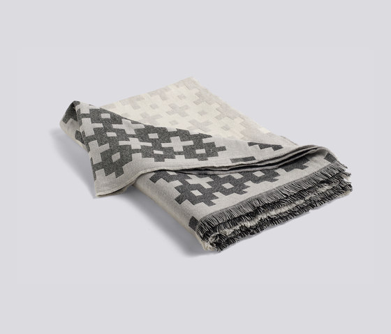 Plus 9 grey by Hay | Plaids / Blankets