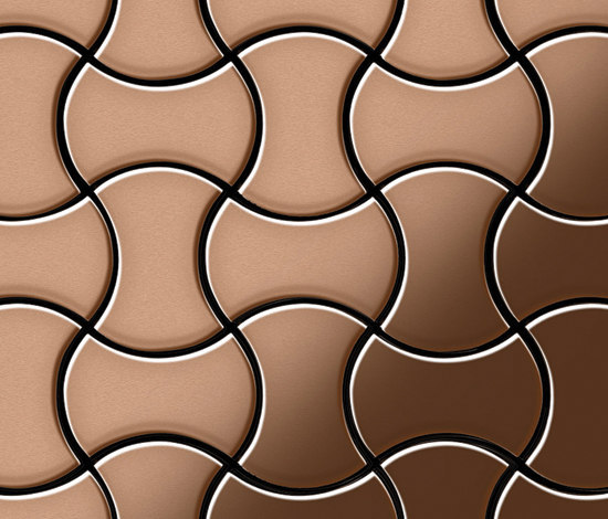 Infinit Copper Tiles de Alloy | Mosaïques