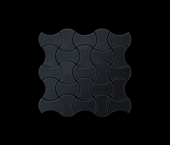 Infinit Raw Steel Tiles by Alloy | Metal mosaics
