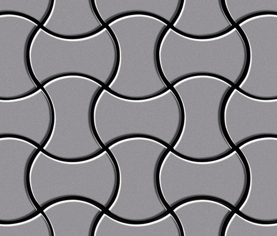 Infinit Stainless Steel 2B by Alloy | Metal mosaics