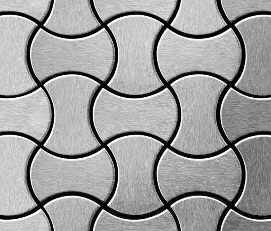 Infinit Stainless Steel Brushed Finish de Alloy | Mosaicos