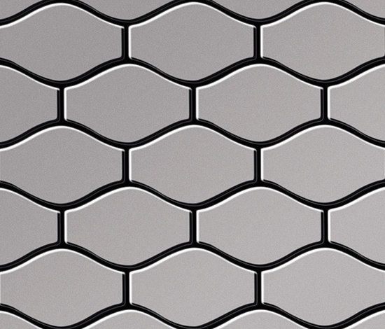 Karma Stainless Steel 2B Finish by Alloy | Metal mosaics