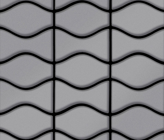 Kismet & Karma Stainless Steel 2B Finish by Alloy | Metal mosaics