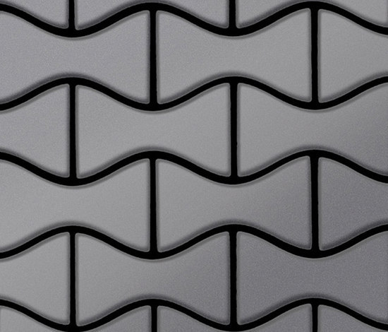 Kismet Stainless Steel 2B Finish by Alloy | Metal mosaics