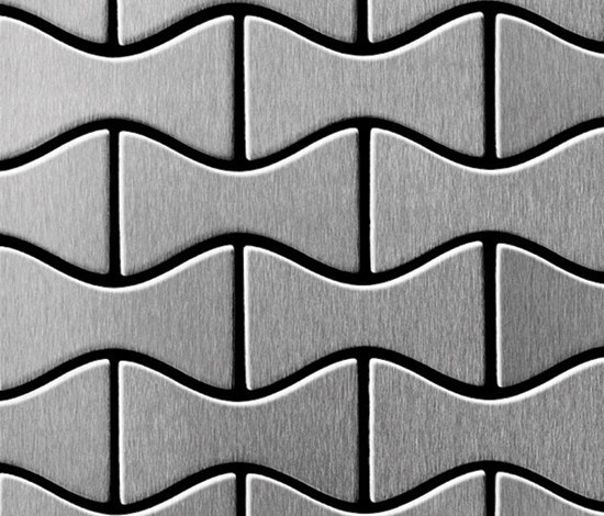 Kismet Stainless Steel Brushed Finish de Alloy | Mosaicos