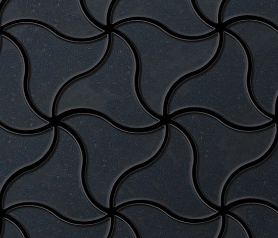 Ninja Raw Steel Tiles by Alloy | Metal mosaics