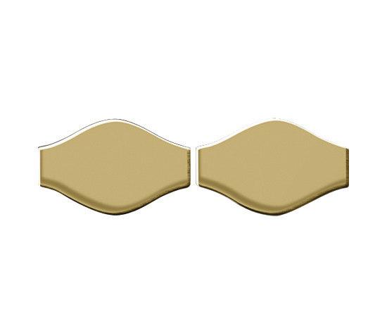 Karma Titanium Gold Mirror Tiles de Alloy | Mosaïques en métal