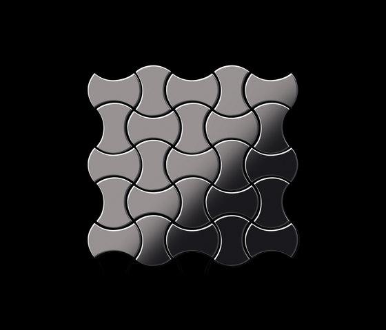 Infinit Titanium Smoke Mirror Tiles de Alloy | Mosaïques