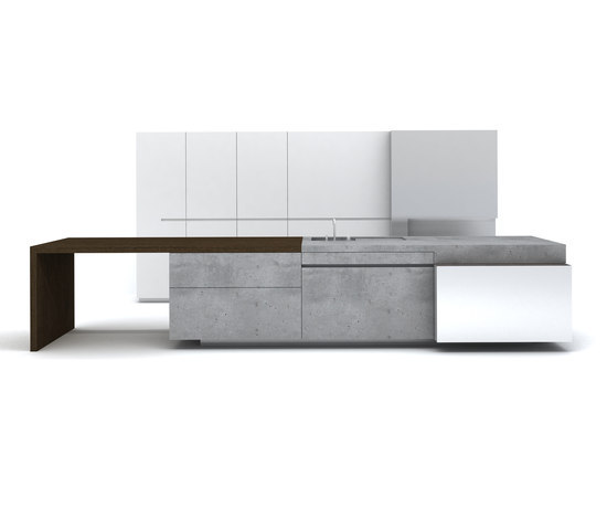 BETONküche10 de steininger.designers | Cocinas isla