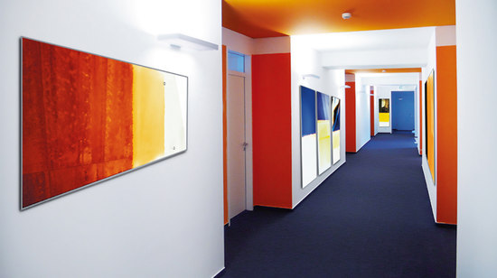 mooia acoustic wall de Sedus Stoll | Cuadros de pared fonoabsorbentes