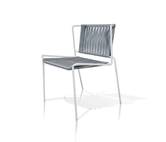 Out_Line Gewobener Stuhl von Expormim | Restaurantstühle