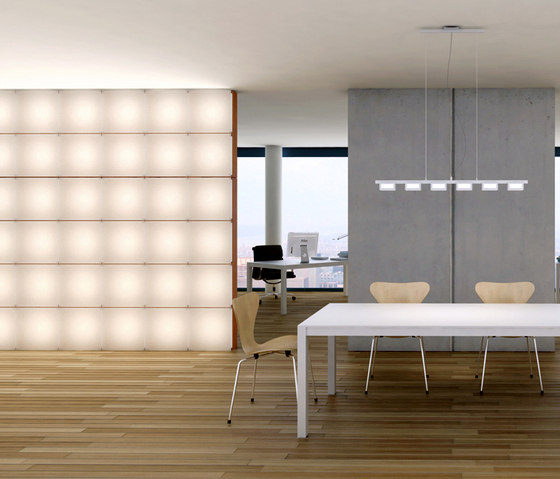 Quadro by luce² | Partition wall systems