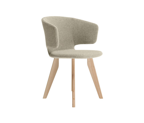 taormina wood 565 by Alias | Visitors chairs / Side chairs