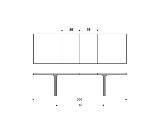 Extension Table H94 von Artek | Esstische