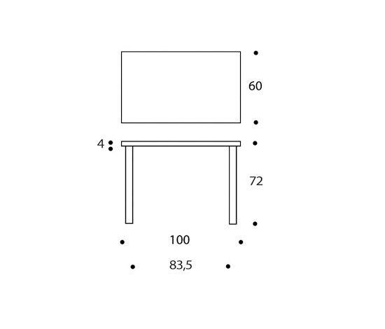 Table 80B by Artek | Desks