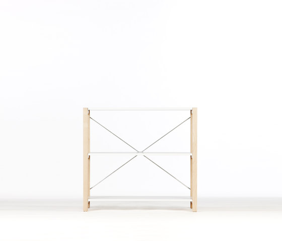 Shelving System Low Unit von Artek | Regalsysteme
