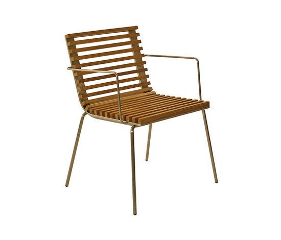 Trama Teak Armchair by Calma   Garden chairs