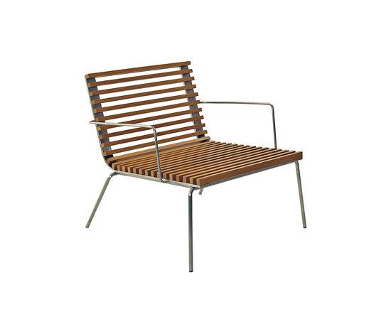 Trama Teak Armchair by Calma   Garden armchairs
