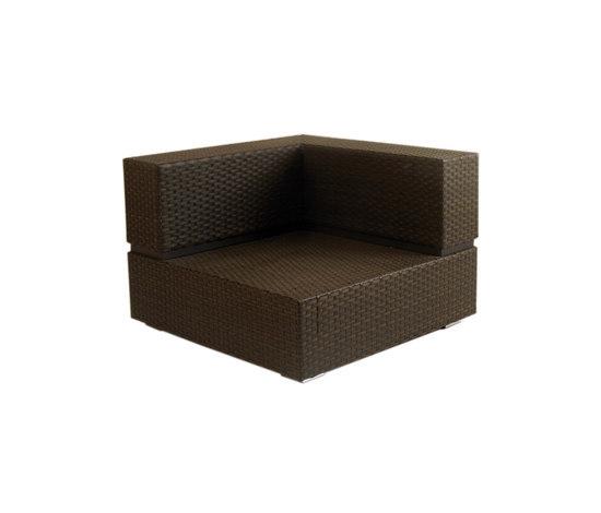 Cubic Sling Corner Module by Calma | Garden armchairs