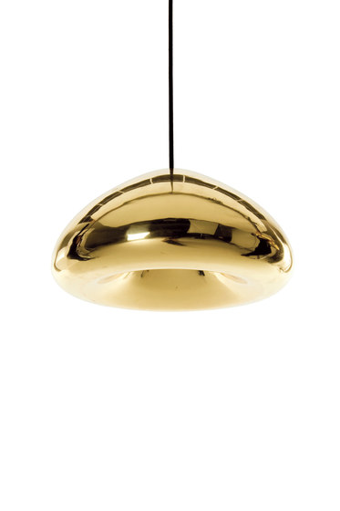 Void Pendant Brass by Tom Dixon | Suspended lights