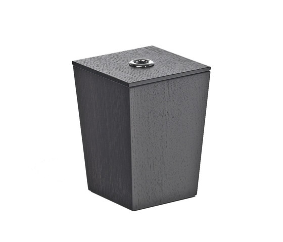 Iside Wooden pot 1 by pomd'or | Waste bins