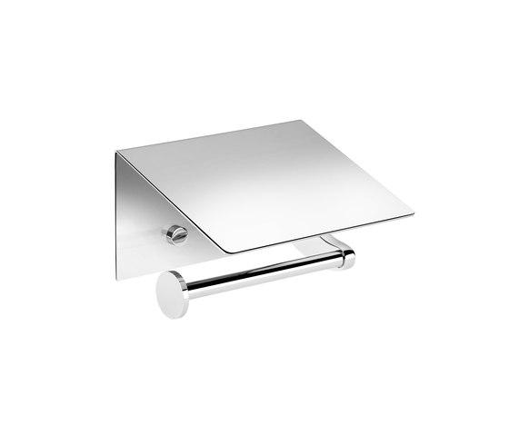 Kubic Porte-Rouleaux Avec Couvercle Gauche de Pomd'Or | Distributeurs de papier toilette