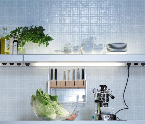 Lighting system 3 Light board by GERA | Illuminated shelving