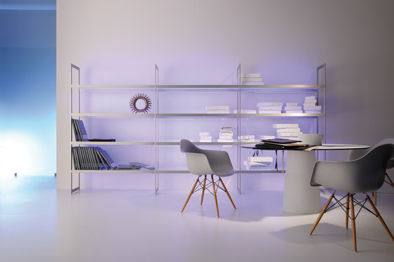 Lighting system 6 Light shelf 300 by GERA | Illuminated shelving