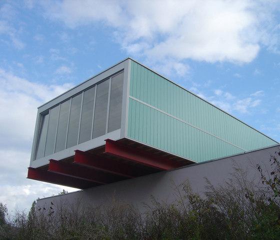 TIMax Decor | Feuerwehrgebäude Luxemburg by Wacotech | Facade design