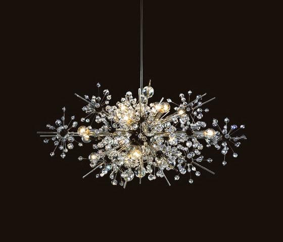 Met Foyer by LOBMEYR | Ceiling suspended chandeliers