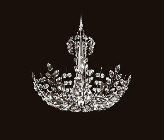 Ambassador Chandelier by LOBMEYR | Ceiling suspended chandeliers