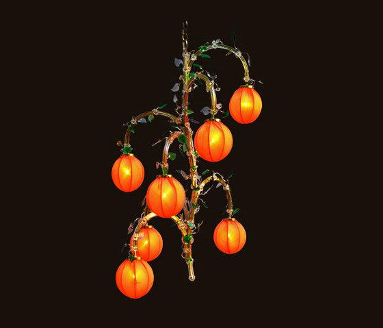 Rosa-Fleischmann Chandelier by LOBMEYR | Ceiling suspended chandeliers