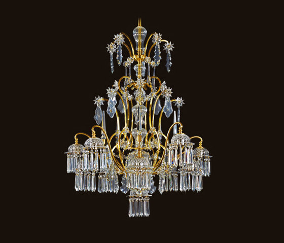 Sacher Chandelier by LOBMEYR | Ceiling suspended chandeliers