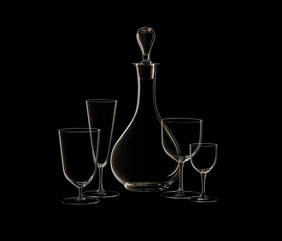 Drinking Suite No.4 by LOBMEYR | Dinnerware