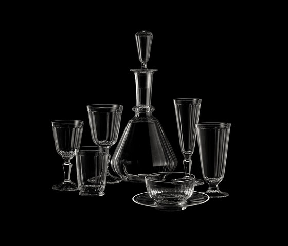 Drinking set no.98 - Palais by LOBMEYR | Dinnerware