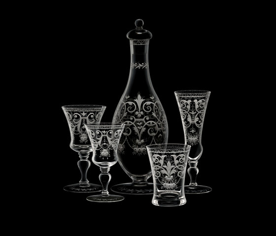 Drinking set no.231 - Barock by LOBMEYR | Dinnerware