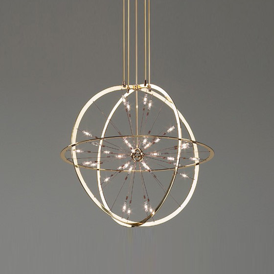 ARMILLA chandelier by Okholm Lighting | Chandeliers