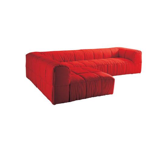 Strips Corner sofa by ARFLEX | Modular seating systems