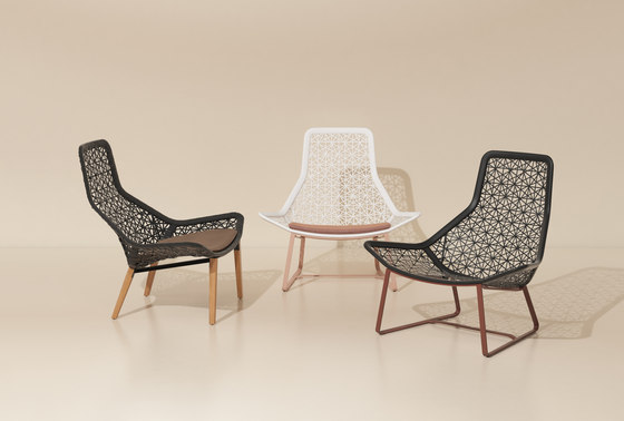 Maia relax armchair di KETTAL | Poltrone da giardino