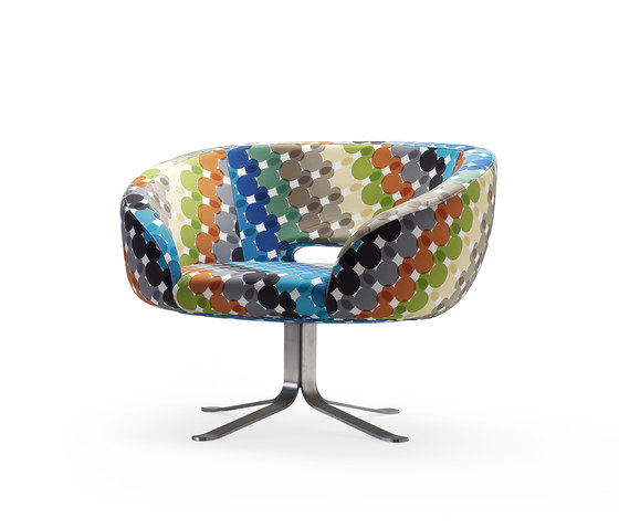 Multicolor Rive Droite limited edition di Cappellini | Poltrone lounge