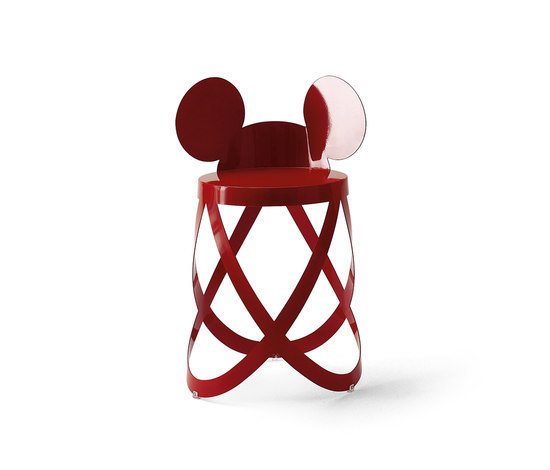 Mickey's Ribbon Stool von Cappellini | Hocker