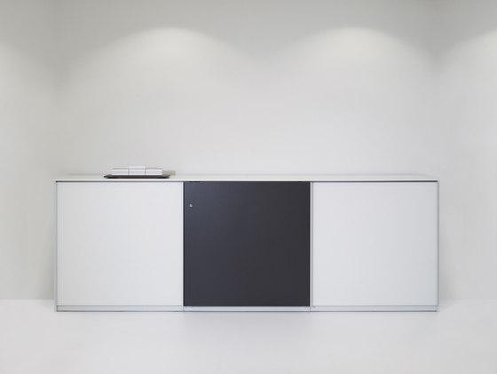 basic S Suspended door system de werner works | Armoires