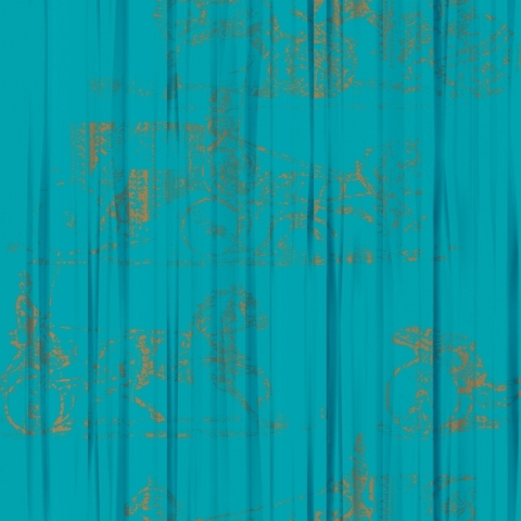 Foulards | Belle Chasse VP 685 05 by Elitis | Wall coverings / wallpapers