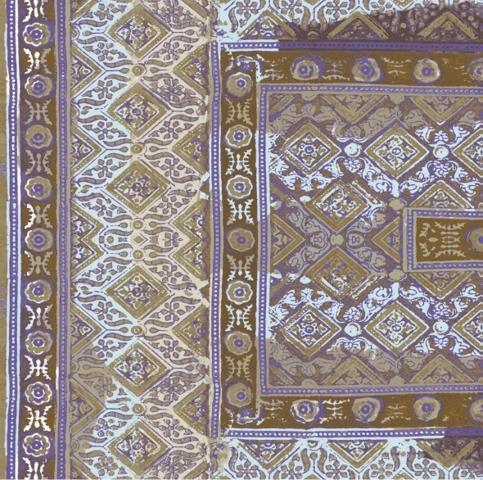 Foulards | Rajasthan VP 683 02 von Elitis | Wandbeläge / Tapeten